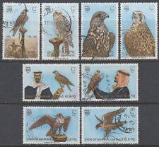Bahrain 1980 Mi.298/05 fine used Falken Falcons Vögel Birds Fauna Tiere [gb079]