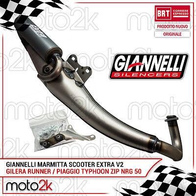 31601E MARMITTA GIANNELLI SCARICO REVERSE GILERA RUNNER PUREJET 50 2006//2009