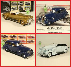 1:43 ZIS 101 A 102 Sport russian DeAgostini Limousine URSS USSR LKW UdSSR ZIS