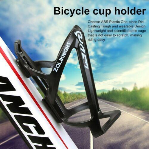 Outdoor Bike Water Bottle Cage Holder Bicycle Adjustable Water Bottle Rack Part
