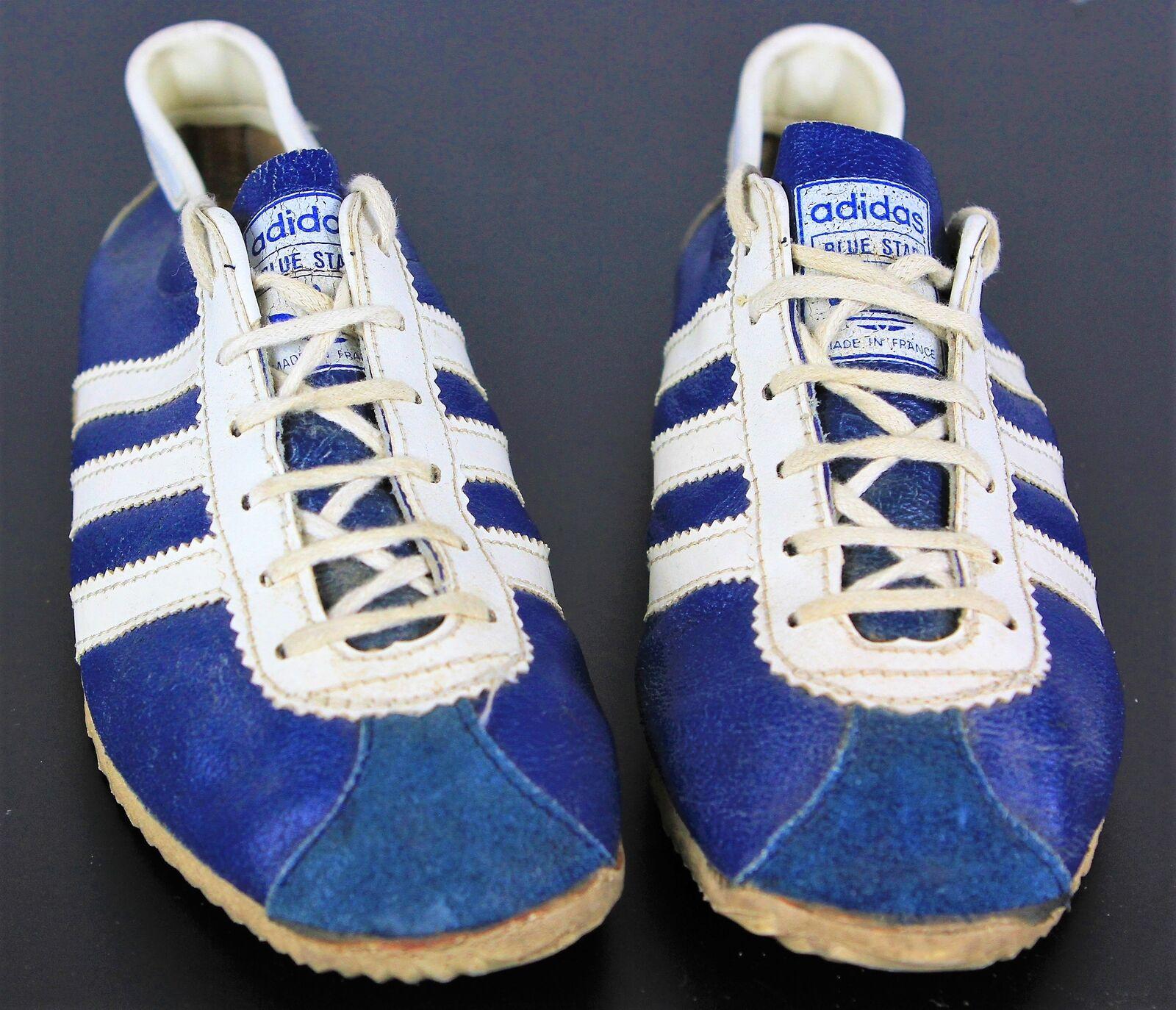 Vintage Adidas bluee Strike Trainers 244 P