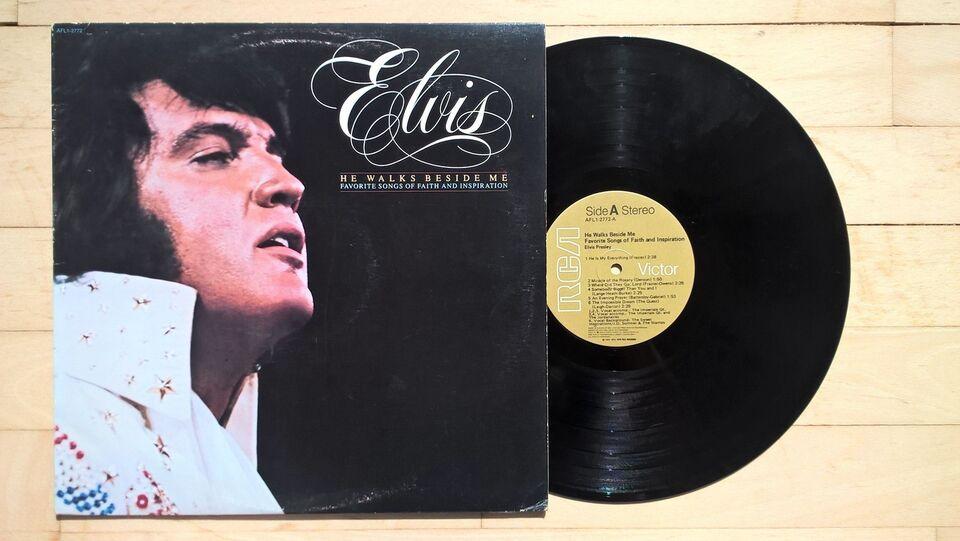 LP, Elvis Presley, He Walks Beside Me