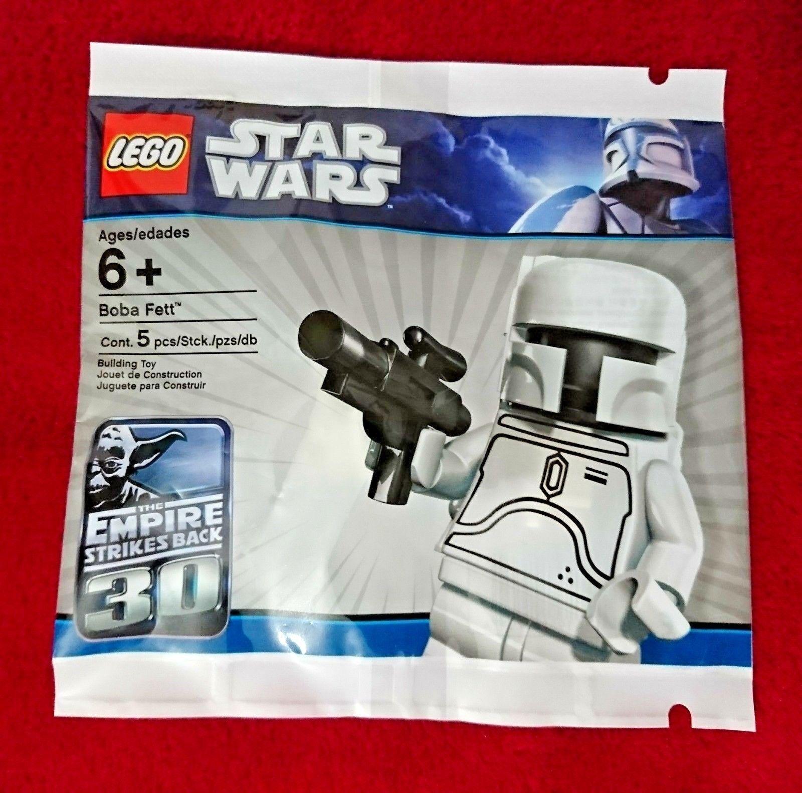 Star Wars Lego    WHITE BOBA FETT  LIMITED EDITION 4597068 Factory Sealed Polybag 9bbc5e
