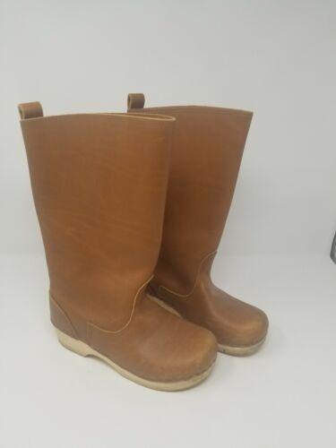 Swedish Hasbeens 39 Clog Boot