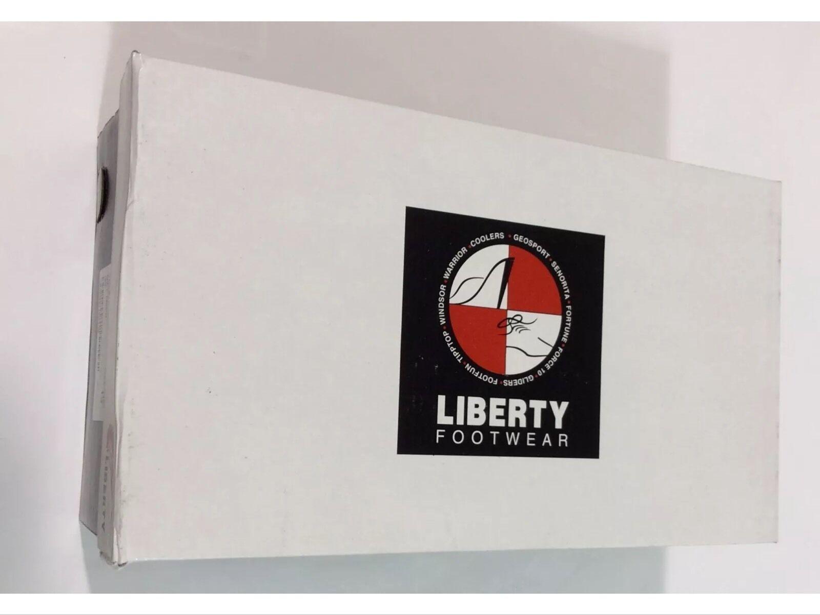 Herren Formelle Schuhe Liberty Liberty Liberty Leder Oben Oxford Marineblau Flügelspitze, Neu & 0ae59d