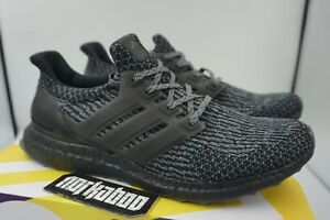 Details about Adidas Ultra Boost 3.0 Limited Triple Black Silver Grey BA8923