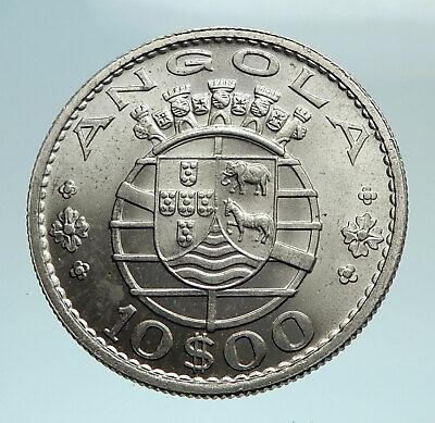 10 PORTUGUESE COINS PORTUGAL ESCUDOS CENTAVOS COLLECTIBLE COINS 1969-2001