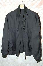 Gucci -Tom Ford- Men's light zippered jacket, black , size US 44, Italian 54, L
