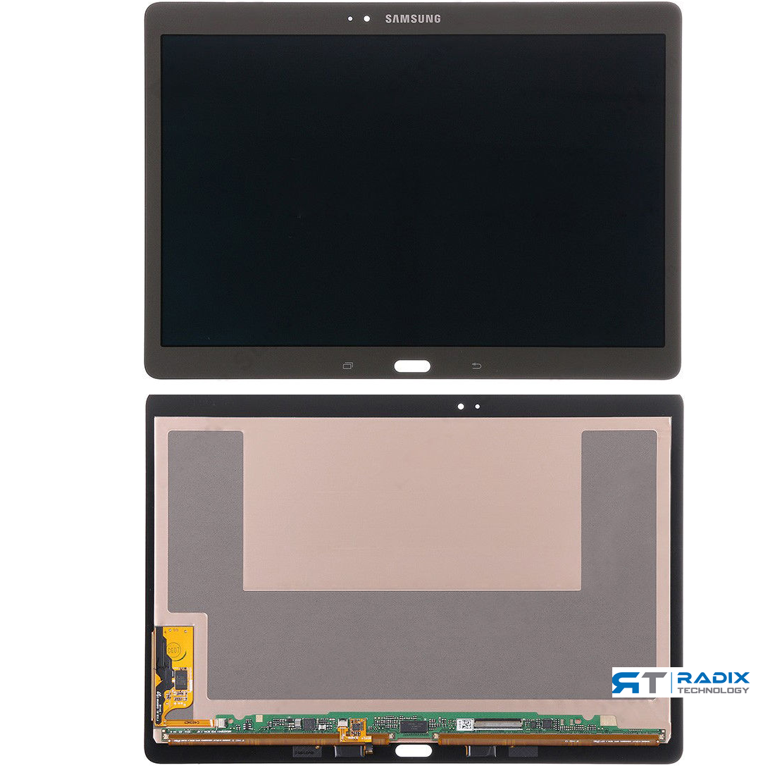 White SM-T800, SM-T805, SM-T807, SM-T807P, SM-T807V GV+ Performance Group Vertical Replacement Screen LCD Digitizer Assembly Compatible with Samsung Galaxy Tab S 10.5