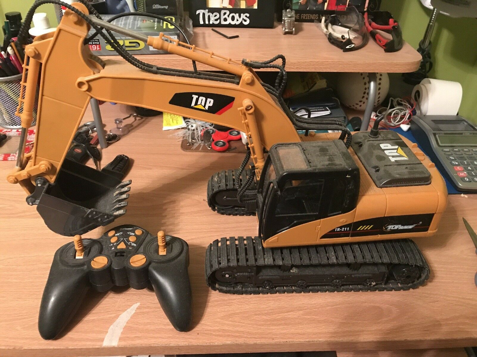 Ct Excavator Come with Battery and Charger