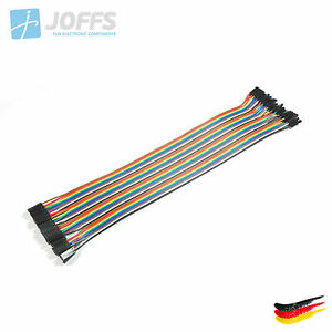 40-x-30cm-FEMALE-zu-FEMALE-Jumper-Kabel-Dupont-Cable-Breadboard-Wire
