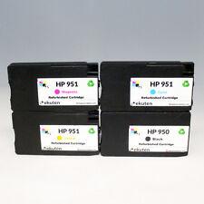 HP Officejet Pro 8100 8600 8610 Refill OEM Ink Cartridges 4 Color Set-HP 950 951