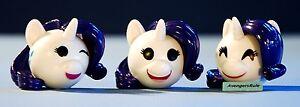 My Little Pony Funko Mymoji Mini-Figure Rarity Set of 3