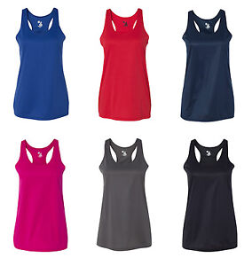 d6141a665cf Image is loading Badger-B-Core-Ladies-039-Racerback-Tank-Top-