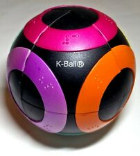 K-ball sphere crazee ball with braille 2x2 Rubik's cube blind partially sighted