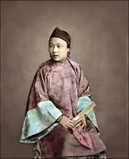 Photo. 1871. China. Woman of Shanghai