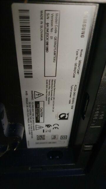 Samsung Qe55q7cam main board
