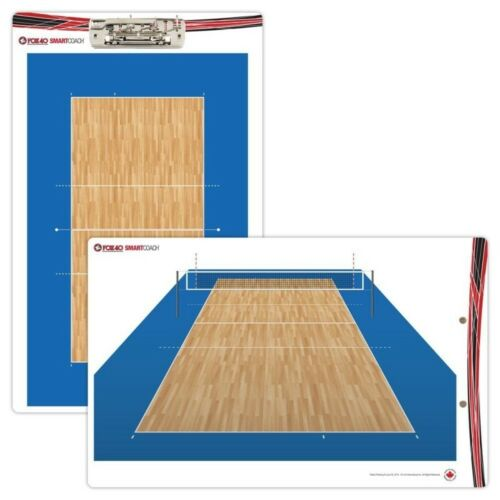 FOX 40 Smartcoach Pro Clipboard Coachboard Volleyball Pocket Board Volleyball