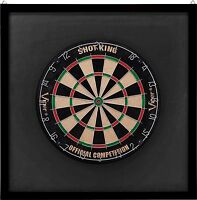 Viper Wood Framed Dartboard Backboard, Mahogany Finish Wall Protector Free Ship