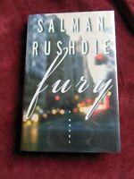 Salman Rushdie - Fury - 1st (signed)
