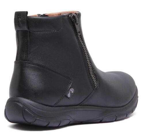 pour 8 britannique bottines mat Bamford Strive taille femme 3 en noir taille cuir xZqYxUF7w