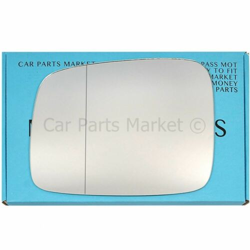 LHD Left Driver Side wide angle wing mirror glass for VW Caddy mk3 2004-2015