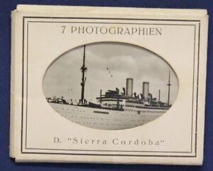 7-Photographien-D-034-Sierra-Cordoba-034-um-1925-Original-Fotografien-Schiff-sf