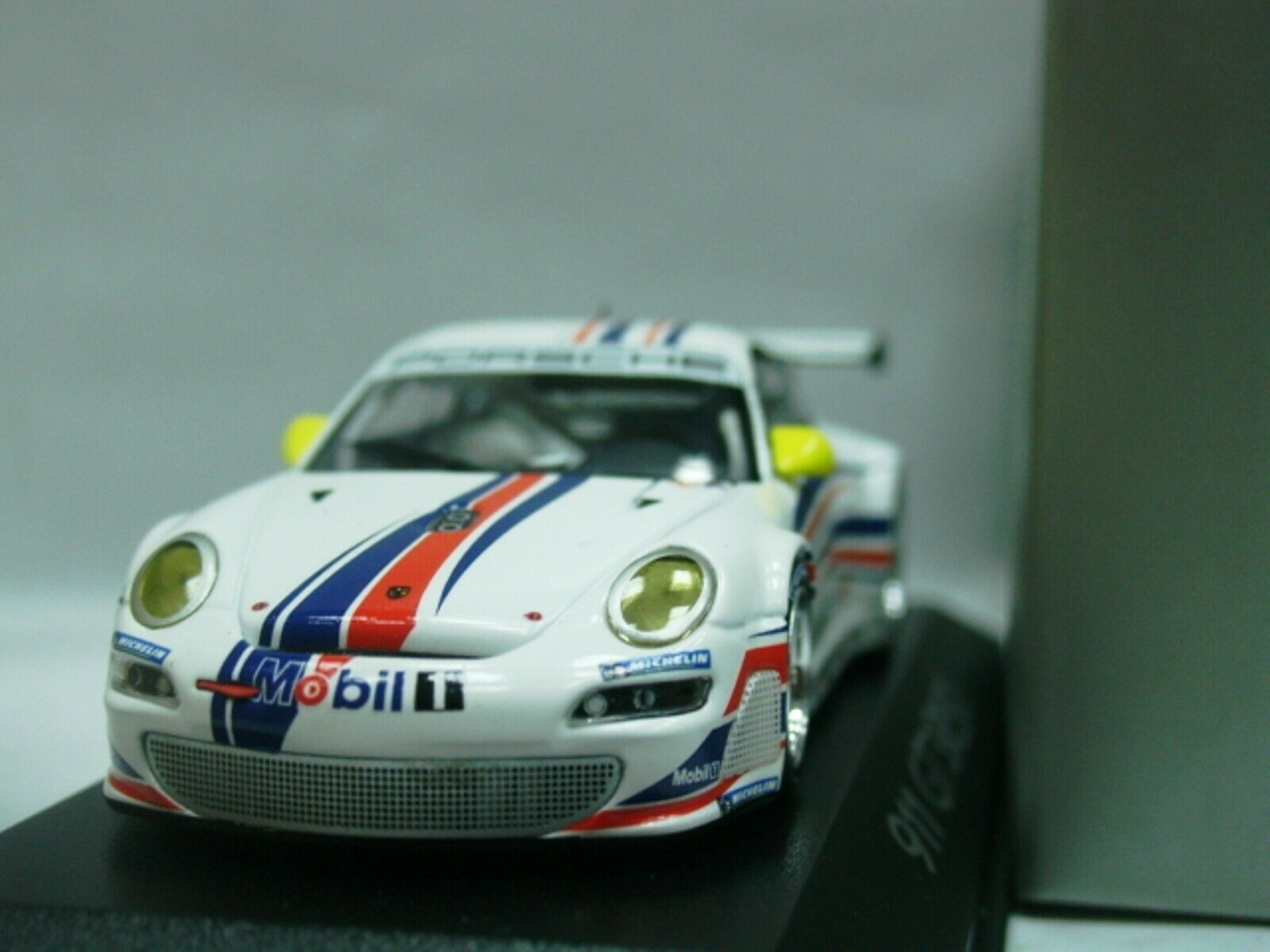 Wow extrêmement rare Porsche 997 911 2006 GT3 RSR PLAIN BODY 1 43 Minichamps-GT2