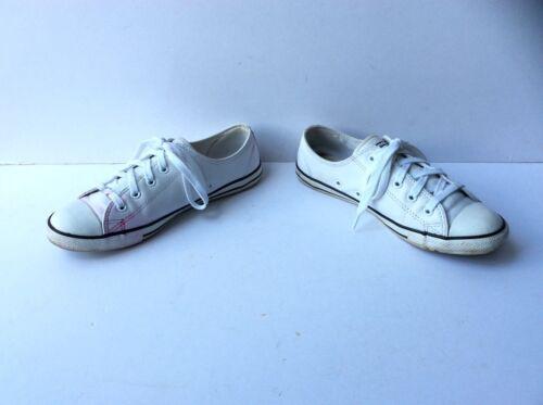 Zapatillas All de converse Star blanco 5 Low planas 38 deporte Uk Eu cuero tama de o rqYt4r