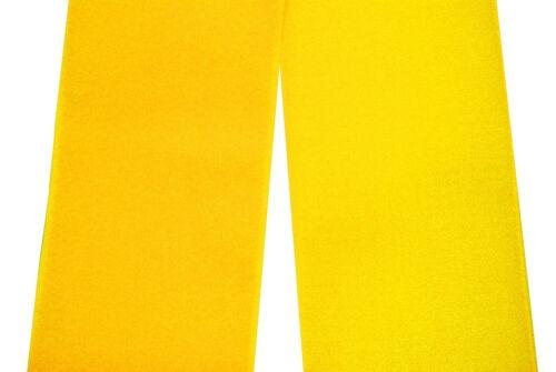und Flauschband Klettband gelb 50mm breit je 1m Klettverschluss Haken