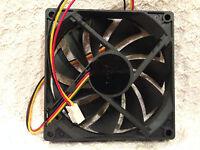 Case Fan 92mm X 92mm X 15mm 12v 0.40a 50 Cfm 3800 Rpm 3-pin Bulk Lot Of 10