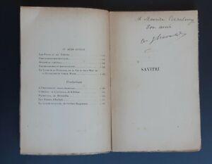 Envoi-dedicace-HEROLD-A-Ferdinand-Savitri-Comedie-herohique-2-actes-1899-E-O
