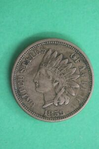1859-Indian-Head-Cent-Penny-CN-Exact-Coin-Shown-Flat-Rate-Shipping-OCE-55
