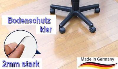Maß Nach Wunsch Kleinmöbel & Accessoires Bodenschutzmatte Bodenmatte Stuhlunterlage Transparent Klar Büromöbel