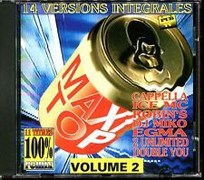 MAXI TOP VOLUME 2 - 11 TITRES 100% REMIX - CD COMPILATION [2108]
