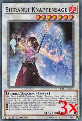 YugiohSavage Strike SAST-DE Super Rare Rare Common Auswahl choose NEU