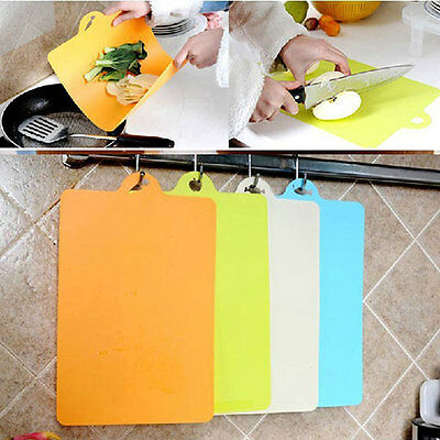 Vintage Flexible Kitchen Chopping Mats Cutting Boards non slip kitchenware Color