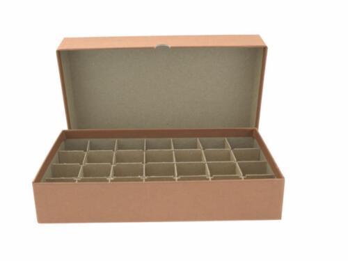 Half-Dollar//Brown Heavy Duty Guardhouse Coin Tube Box