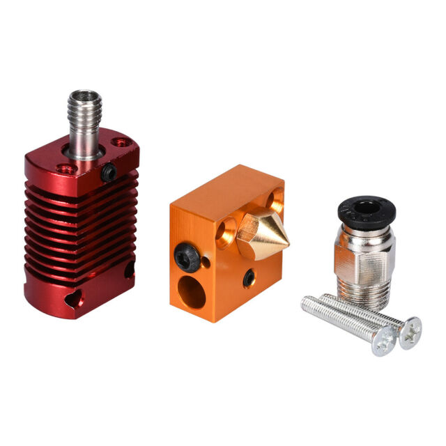 MK8 Assembled Extruder Hot End Kit 0.4mm Nozzle Fit For Creality 3D CR-10 TE1134