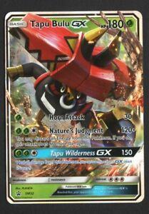Tapu Bulu GX SM32 Black Star Promo Holo Card Pokemon TCG Sun and Moon Promos