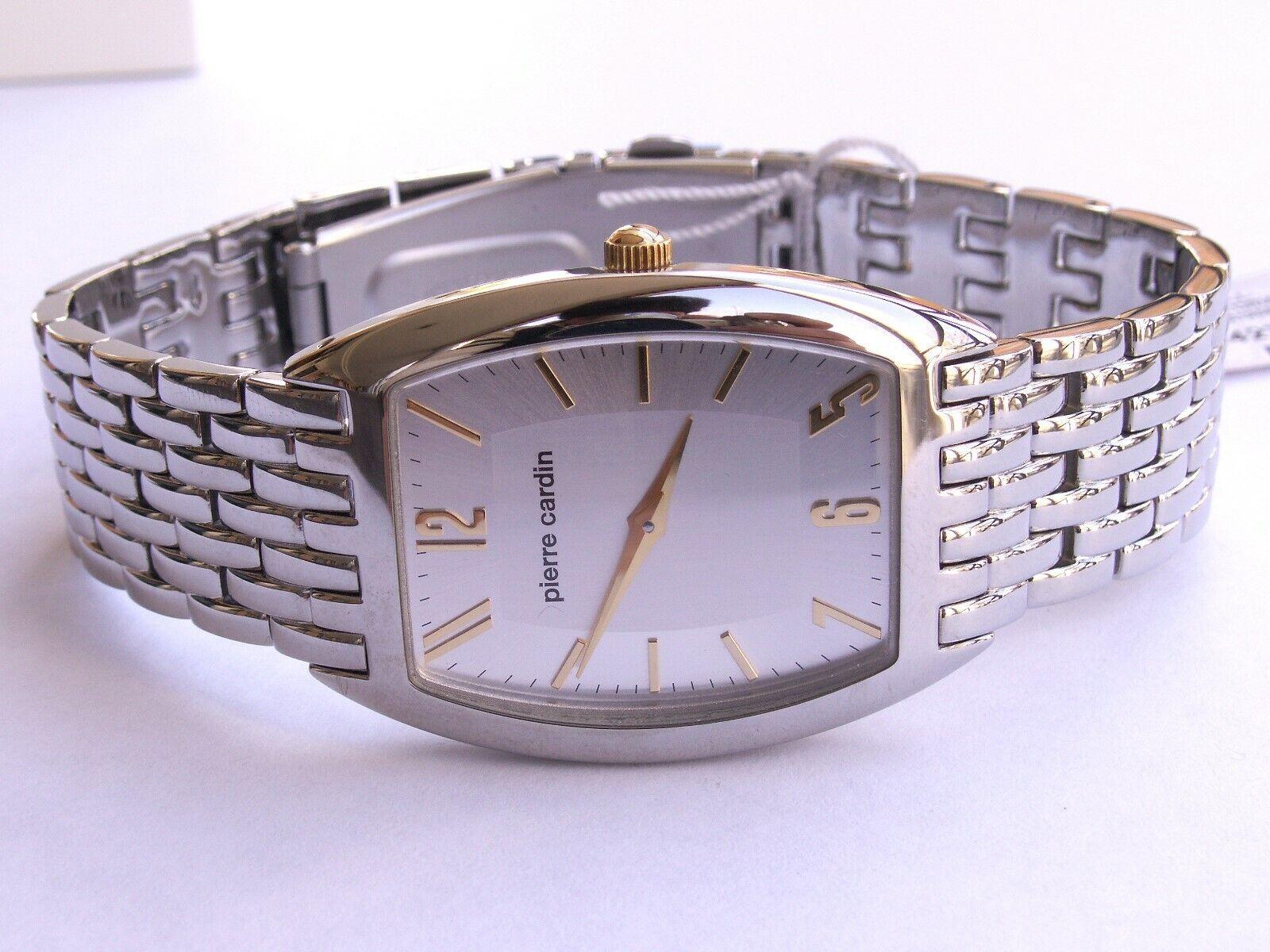 Pierre cardin pc57571 vintage reloj hombre en blanco mejorofertarelojes