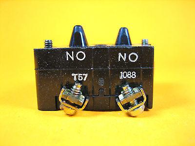 Cutler Hammer Eaton -  10250T57 -  Contact Block 1 E.C.N.O.-1 N.O.