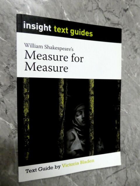 Measure for Measure by Victoria Bladen (Paperback, Study Guide) G4