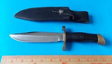 1965-70 CUSTOM GIL HIBBEN HANDMADE HUNTING SURVIVAL KNIFE WITH SHEATH! STIDHAM