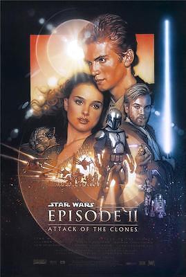 Star Wars Attack of the Clones Movie Poster 8x10 11x17 16x20 22x28 24x36 27x40