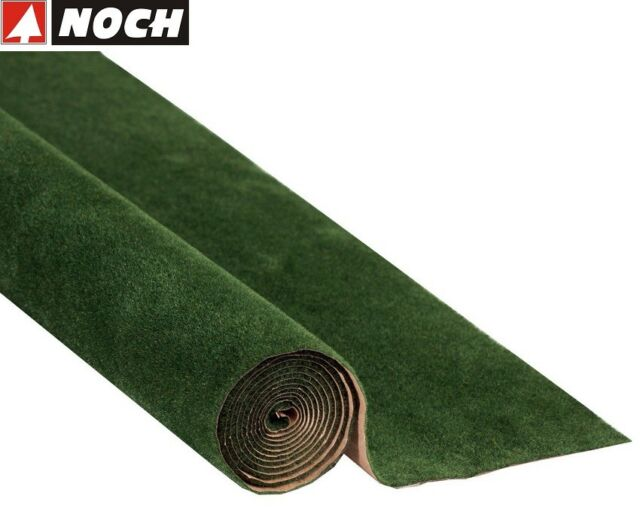 NOCH 00230 Grasmatte dunkelgrün, 120 x 60 cm (1m² - 10,07 €) - NEU + OVP