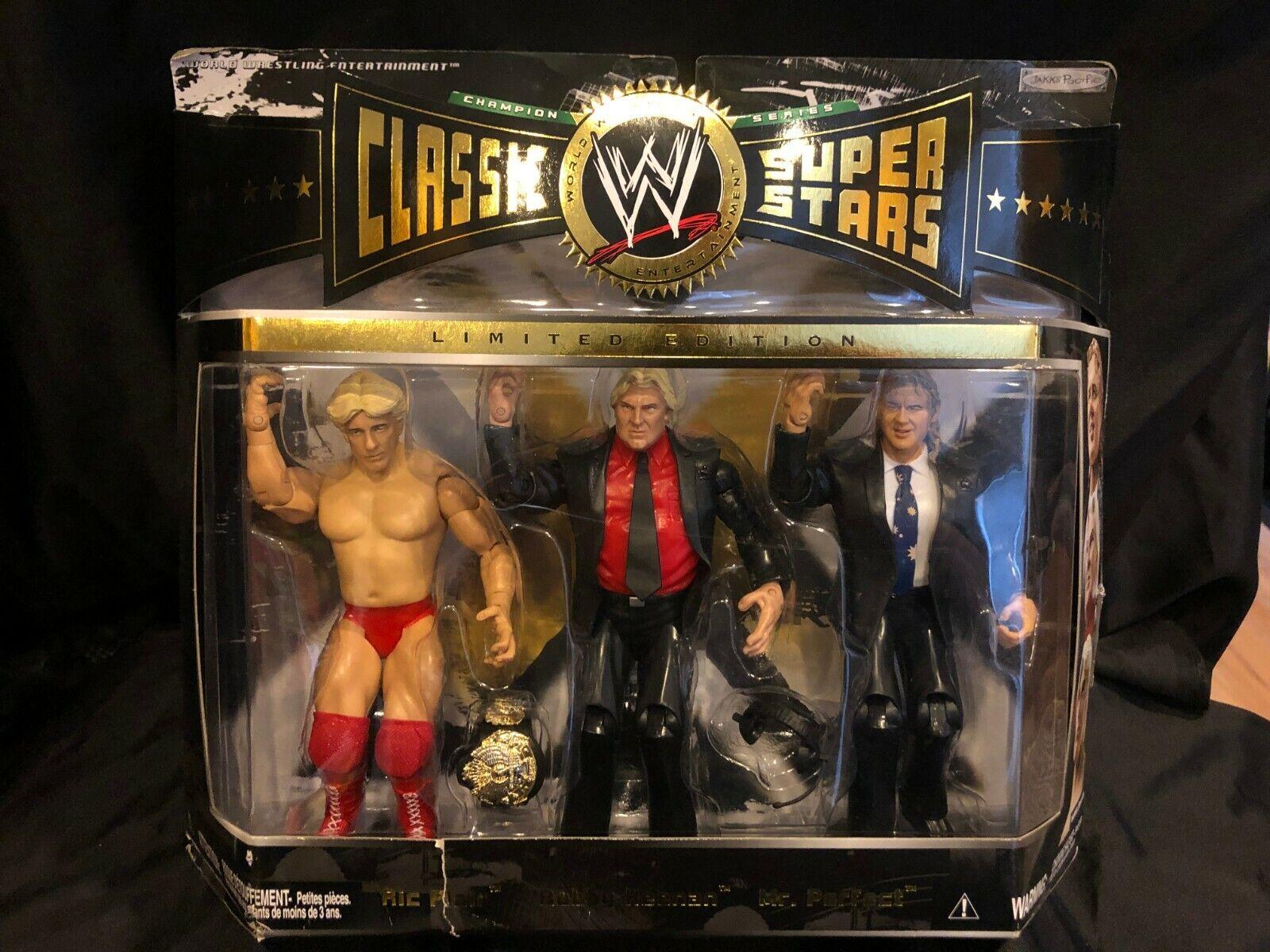 RIC Flair, Bobby automel heenan e il signor perfetta cifra classeIC SUPERestrellaS 3 Pack più economico