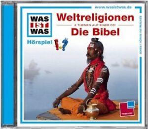 WAS-IST-WAS-FOLGE-32-WELTRELIGIONEN-DIE-BIBEL-CD-KINDERHORSPIEL-NEU