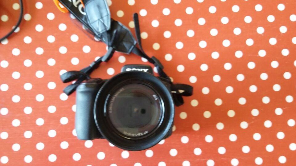 Sony, DSLR A-300, spejlrefleks