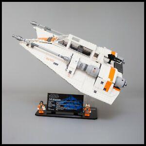 Acrylique-Presentoir-Pour-Lego-Star-Wars-UCS-Snowspeeder-75144